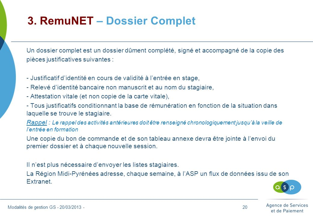 3. RemuNET – Dossier Complet