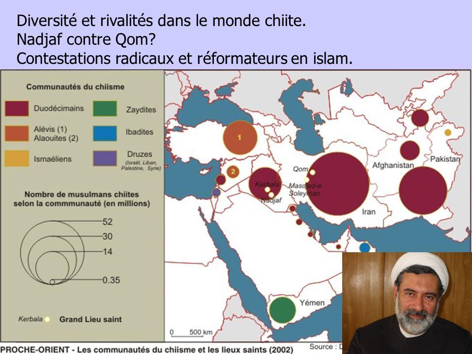 Diversité et rivalités dans le monde chiite.