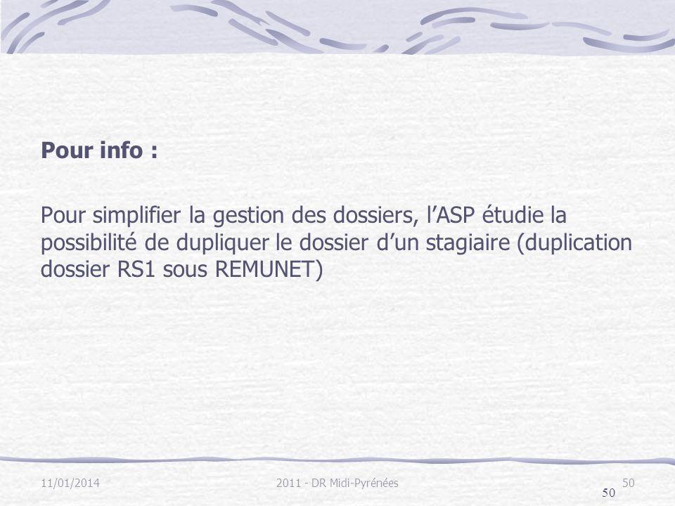 Pour info :