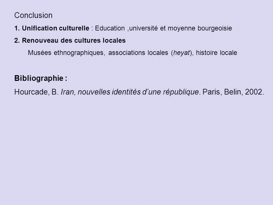 Conclusion Bibliographie :