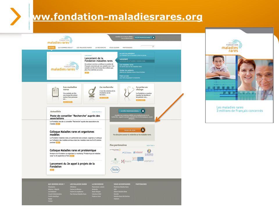 www.fondation-maladiesrares.org