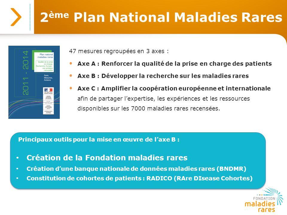 2ème Plan National Maladies Rares