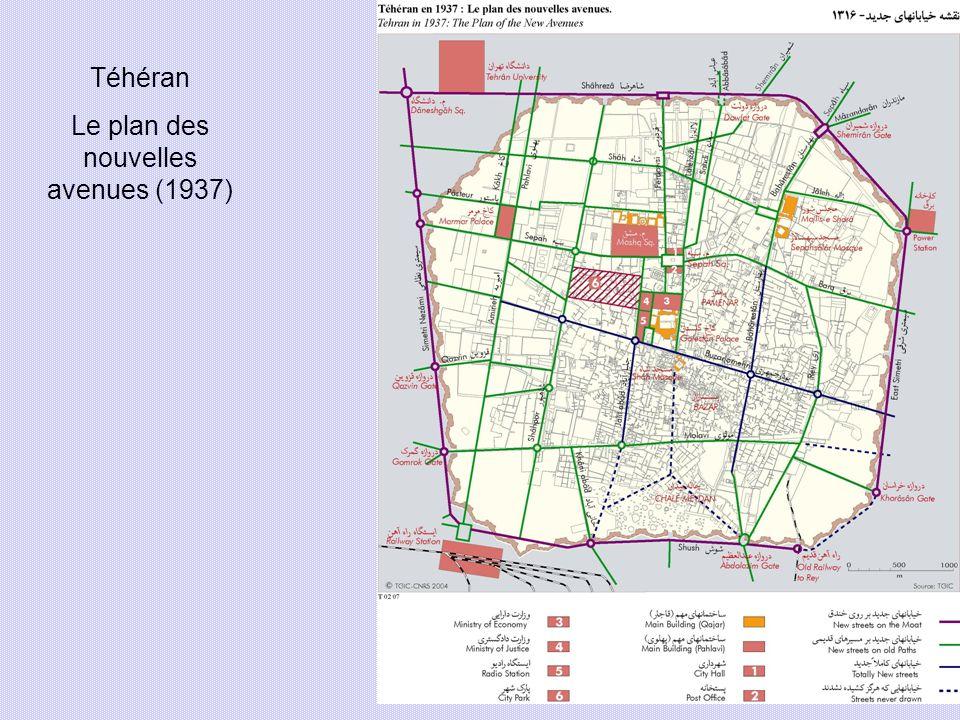 Le plan des nouvelles avenues (1937)
