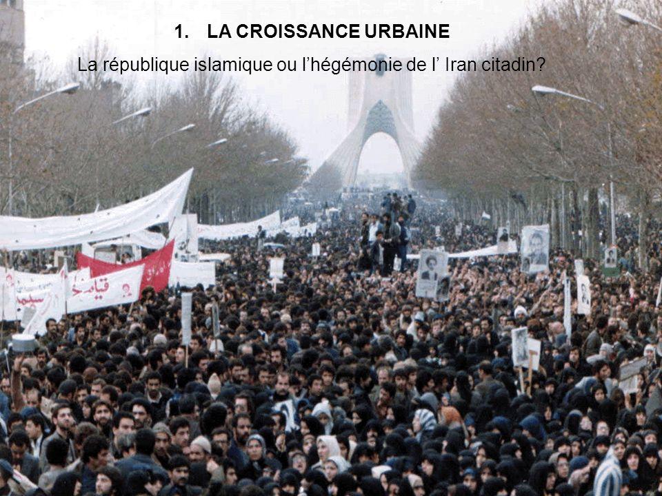 La république islamique ou l'hégémonie de l' Iran citadin