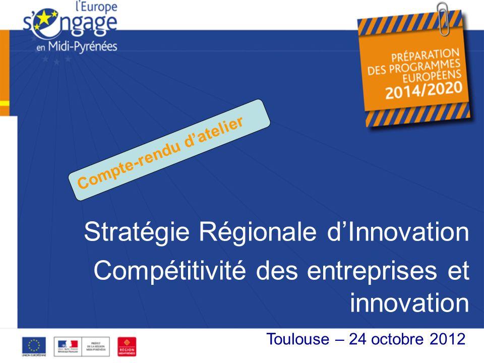 Stratégie Régionale d'Innovation