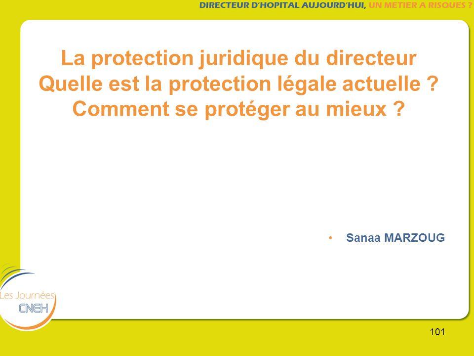 La protection juridique du directeur Quelle est la protection légale actuelle Comment se protéger au mieux