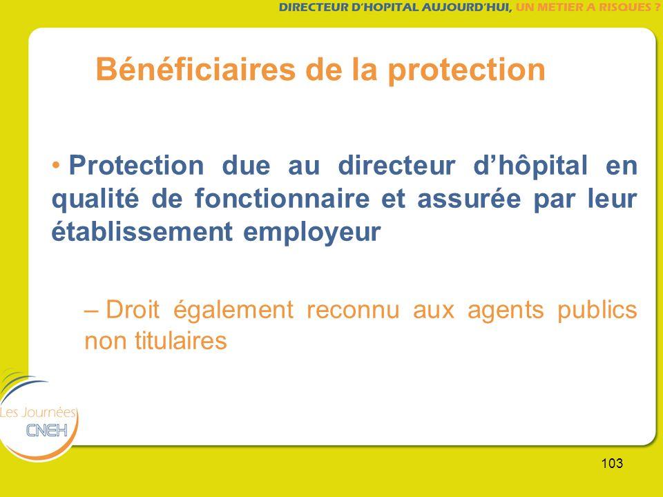 Bénéficiaires de la protection