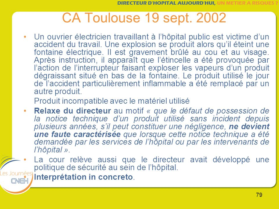 CA Toulouse 19 sept. 2002