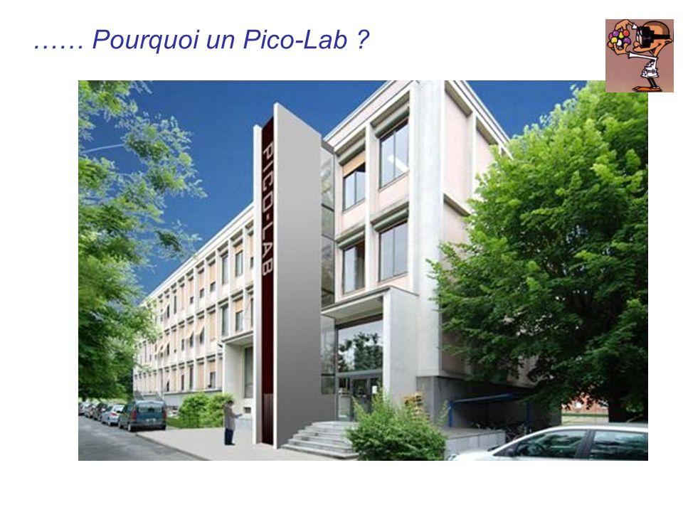 …… Pourquoi un Pico-Lab