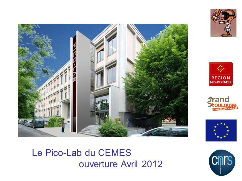 Le Pico-Lab du CEMES ouverture Avril 2012