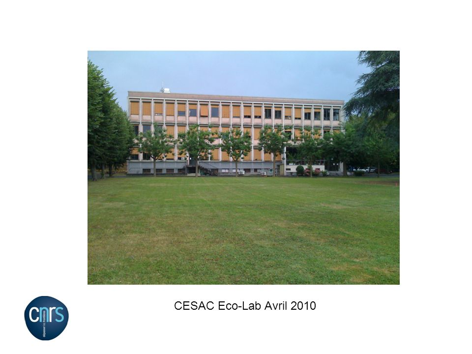 CESAC Eco-Lab Avril 2010