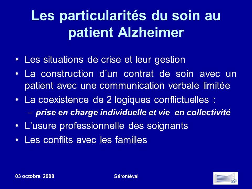 Les particularités du soin au patient Alzheimer