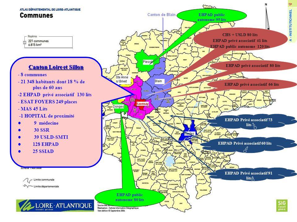 Canton Loire et Sillon - 8 communes