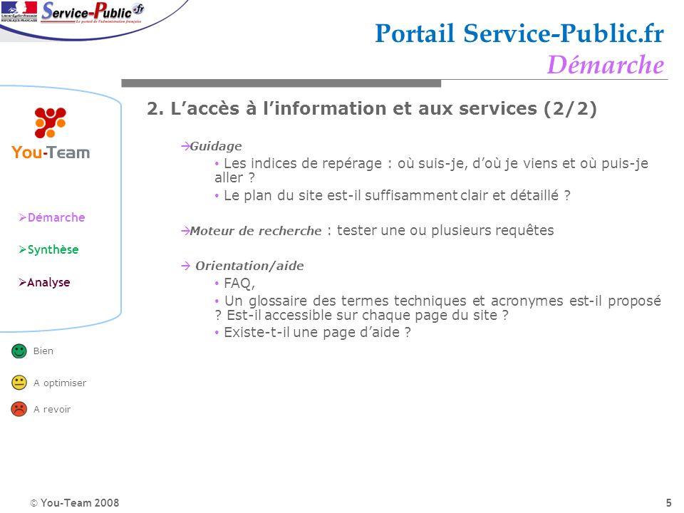 Portail Service-Public.fr Démarche