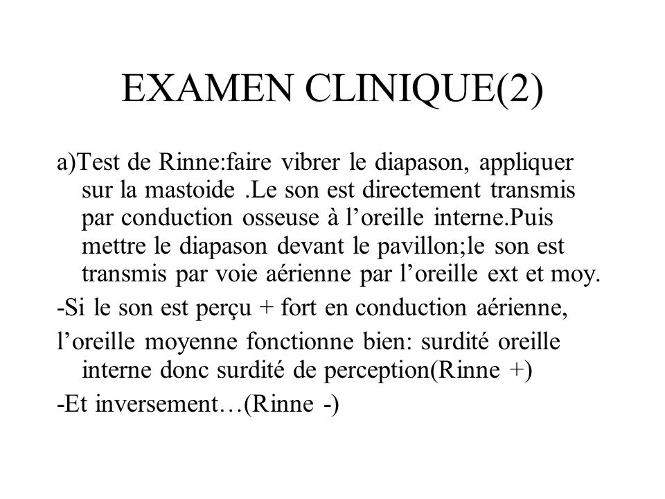 EXAMEN CLINIQUE(2)