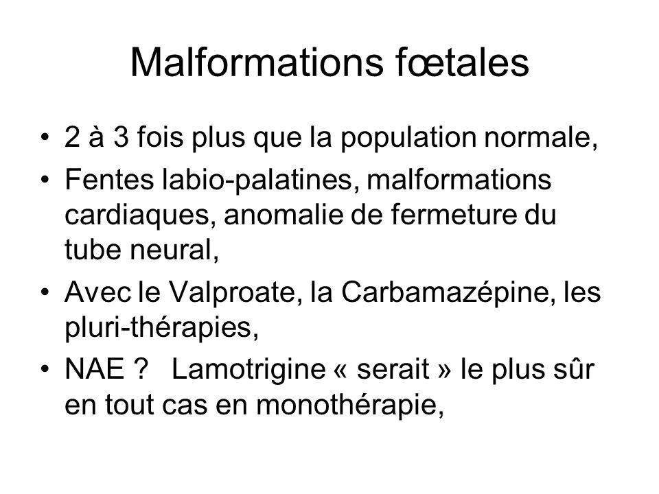Malformations fœtales