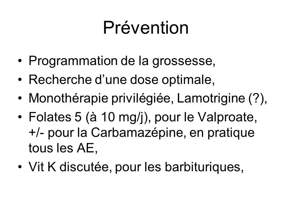 Prévention Programmation de la grossesse,