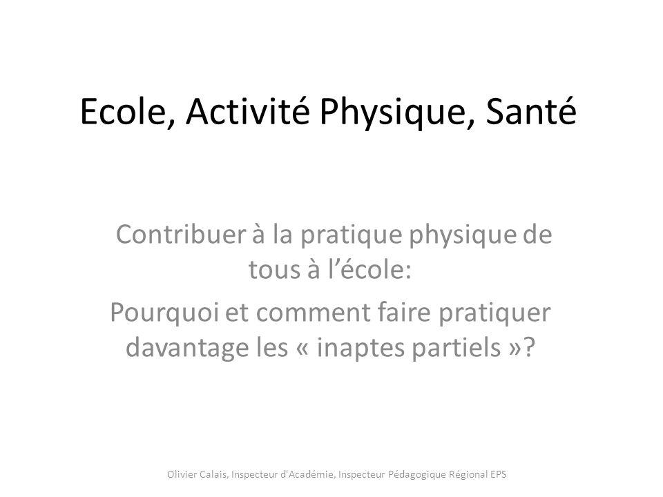 Ecole, Activité Physique, Santé