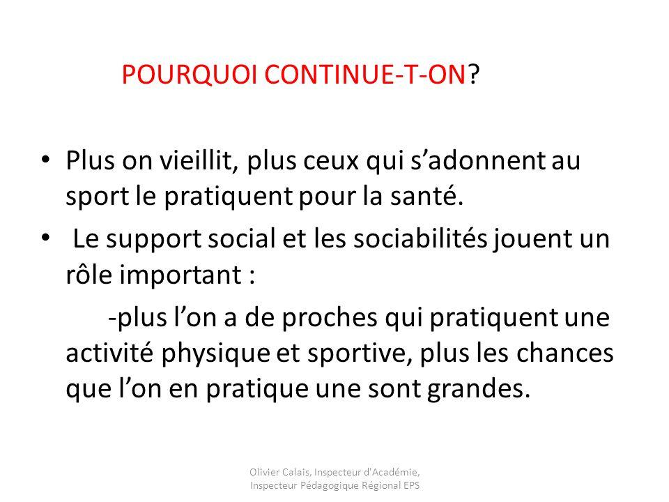 POURQUOI CONTINUE-T-ON
