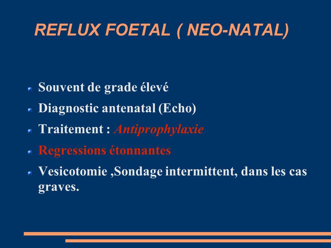 REFLUX FOETAL ( NEO-NATAL)