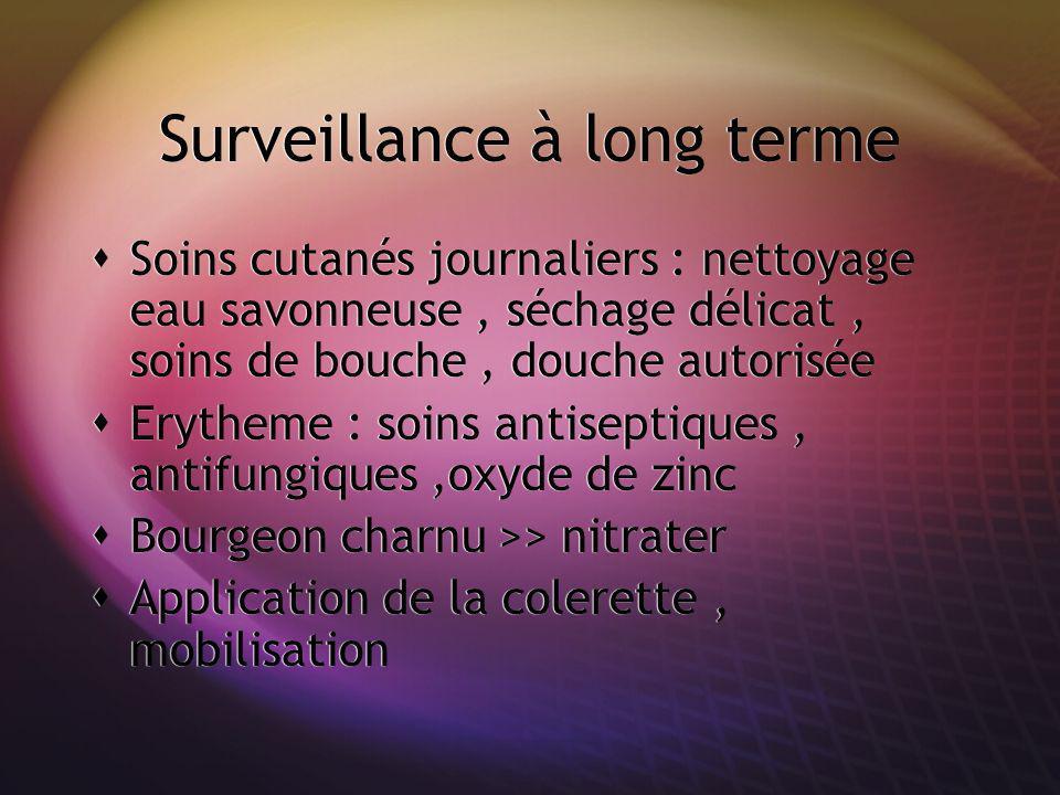 Surveillance à long terme