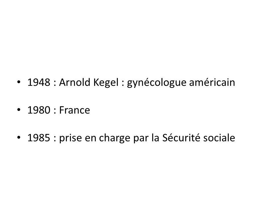1948 : Arnold Kegel : gynécologue américain