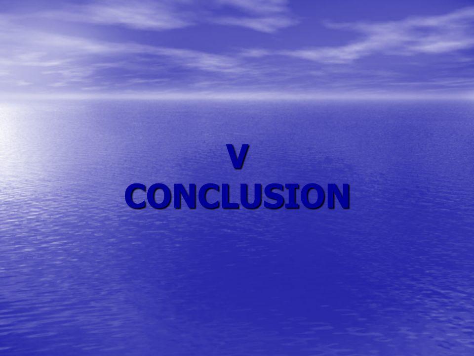 V CONCLUSION