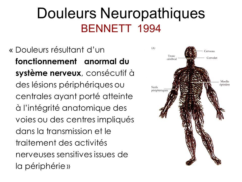 Douleurs Neuropathiques BENNETT 1994
