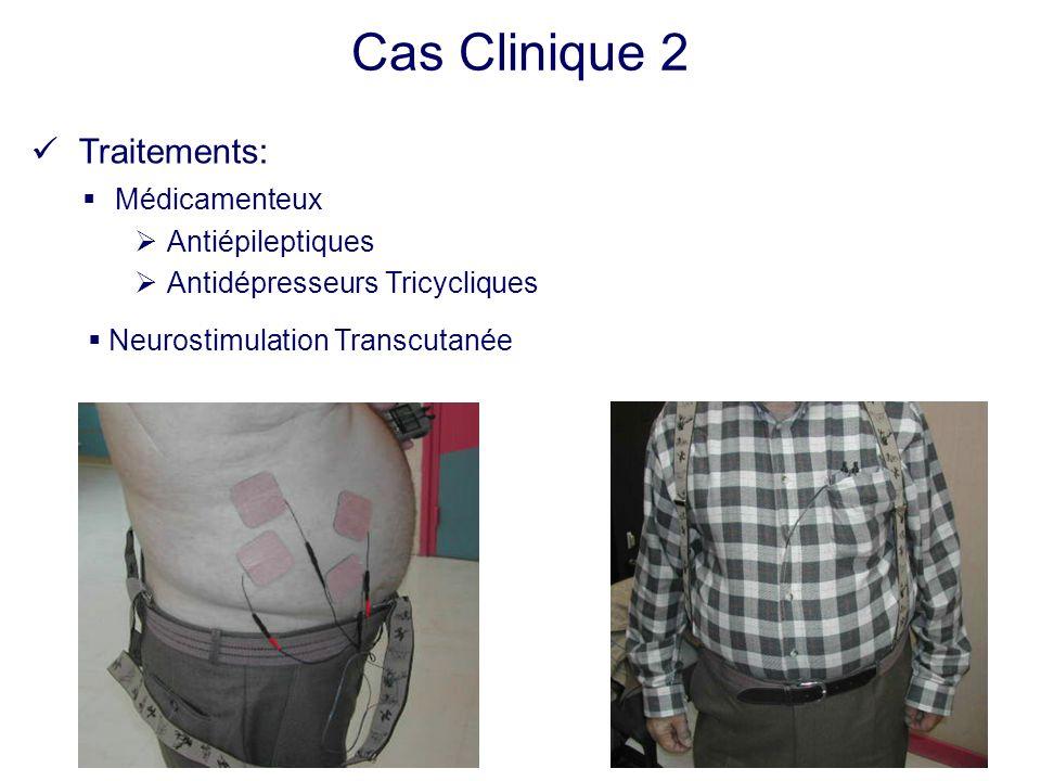 Cas Clinique 2 Traitements: Médicamenteux Antiépileptiques