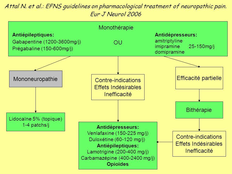Carbamazépine (400-2400 mg/j)