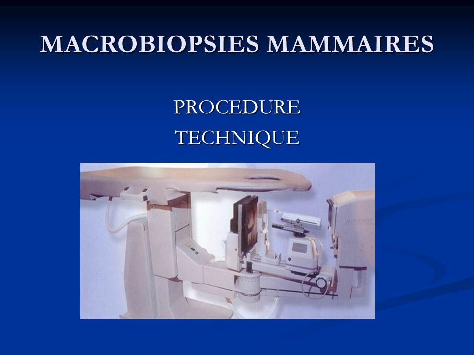 MACROBIOPSIES MAMMAIRES