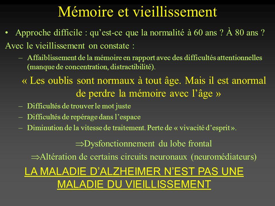 Mémoire et vieillissement