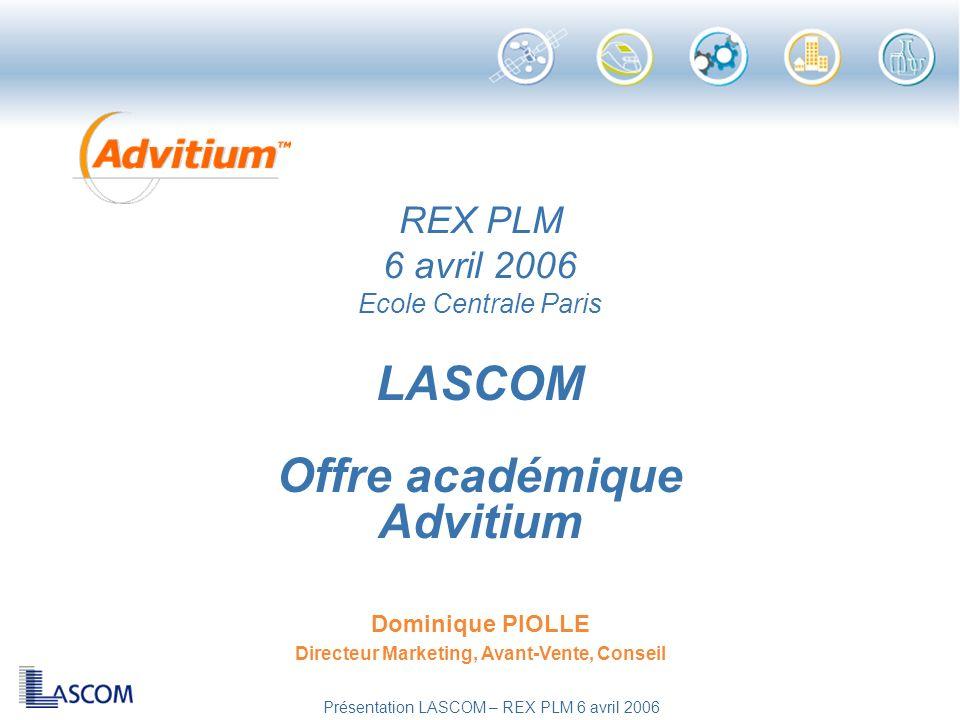 LASCOM Offre académique Advitium