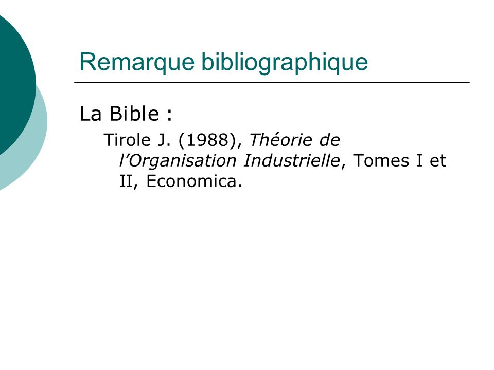 Remarque bibliographique