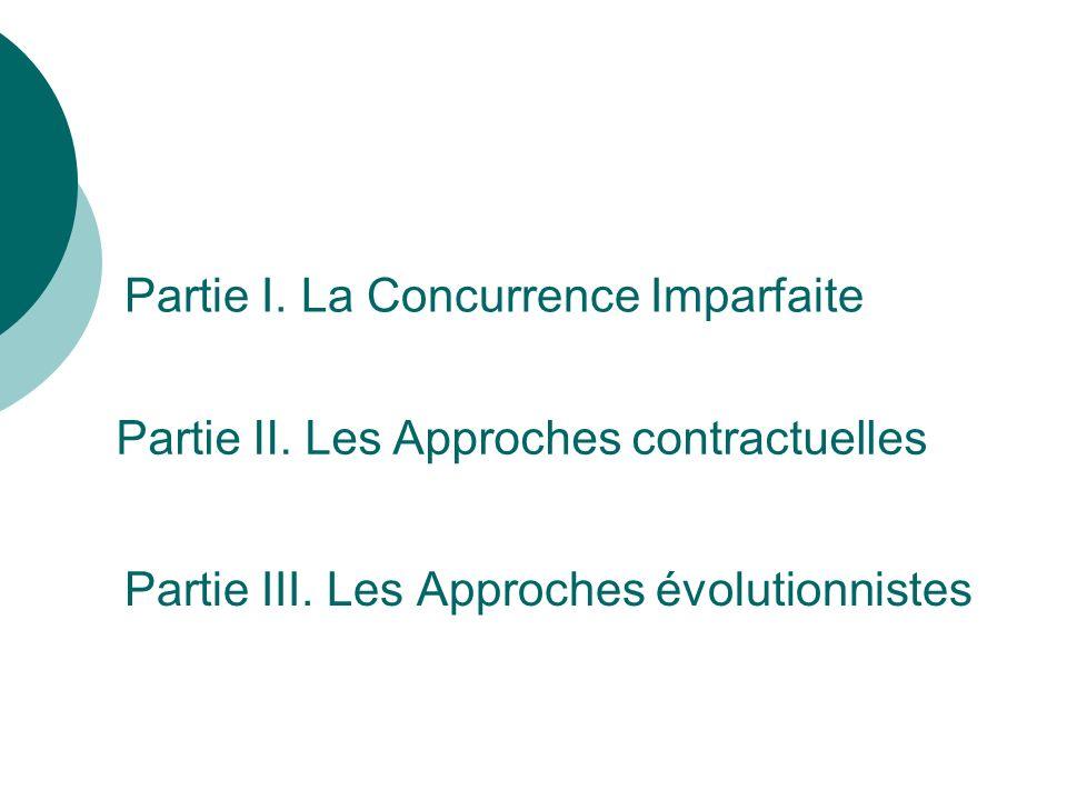 Partie III. Les Approches évolutionnistes