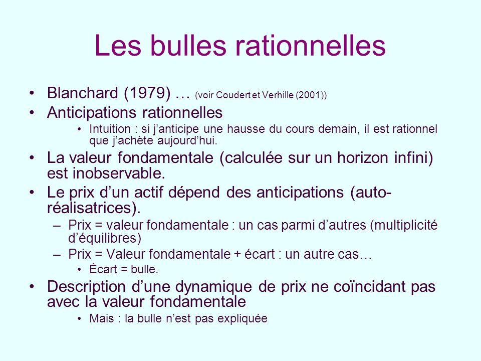 Les bulles rationnelles