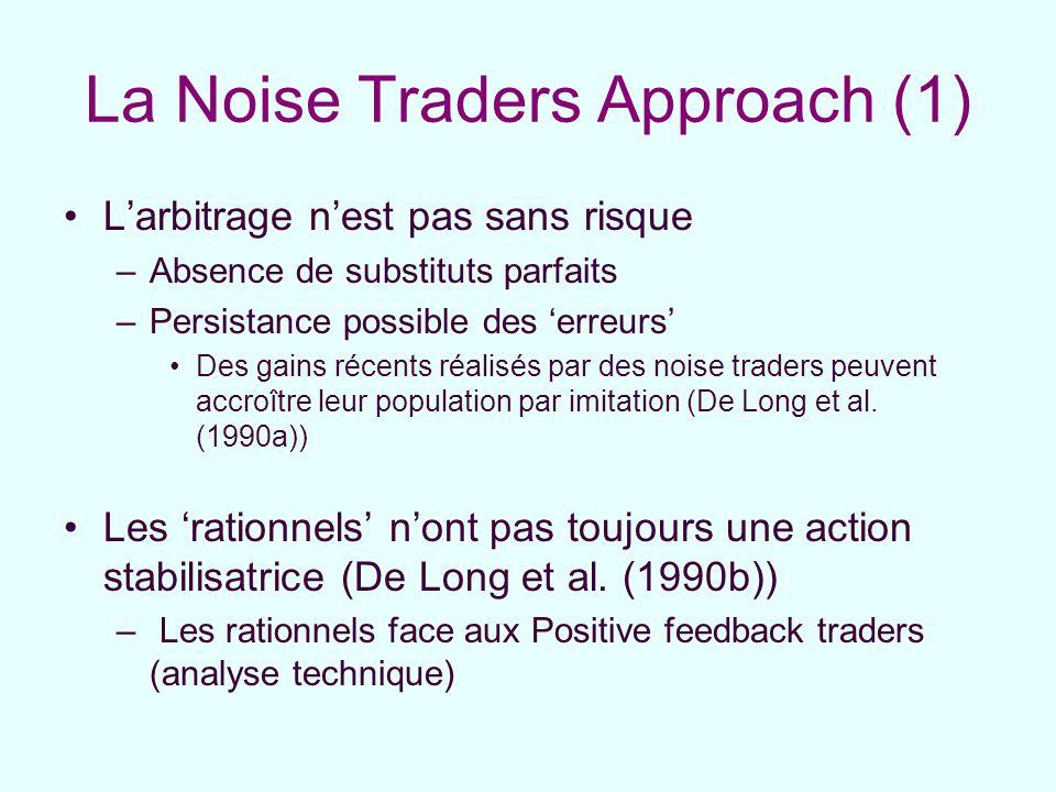 La Noise Traders Approach (1)