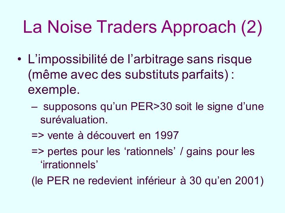 La Noise Traders Approach (2)