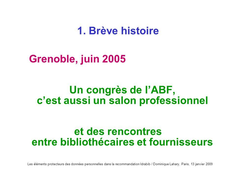 Un congrès de l'ABF, c'est aussi un salon professionnel