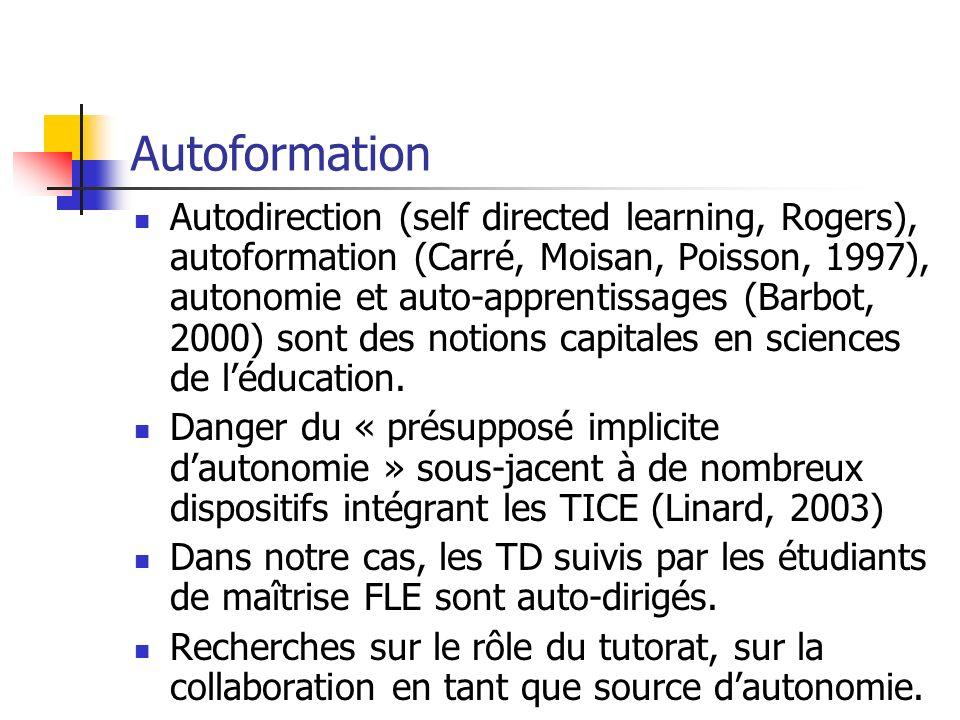 Autoformation