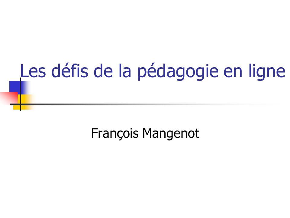 Les défis de la pédagogie en ligne