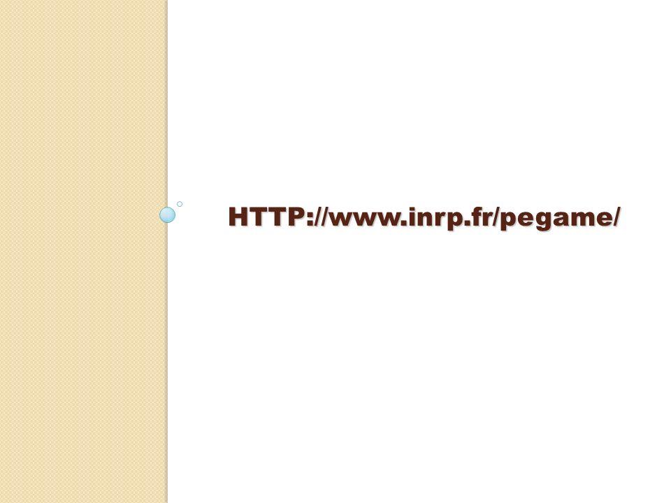 HTTP://www.inrp.fr/pegame/ nous travaillons particulièrement sur la dialectique dévolution/institutionnalisation.