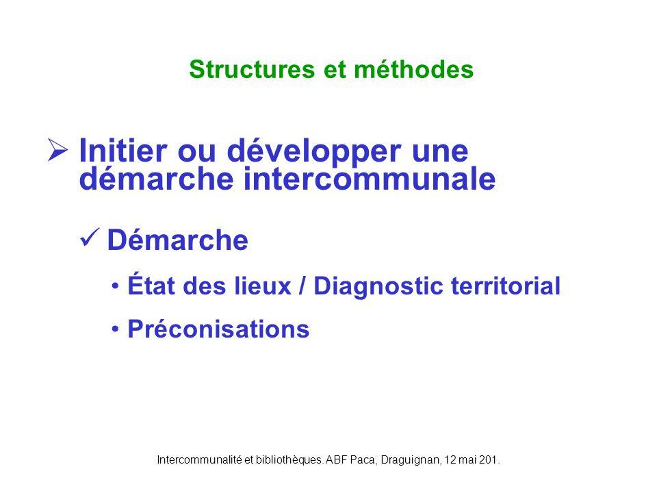 Structures et méthodes