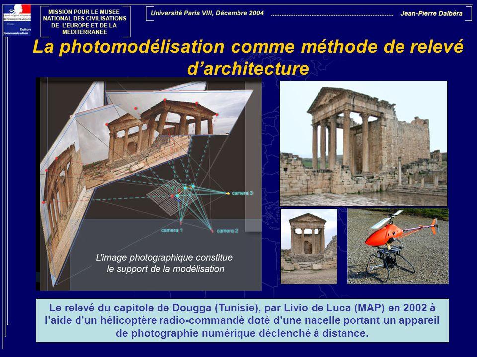 La photomodélisation comme méthode de relevé d'architecture