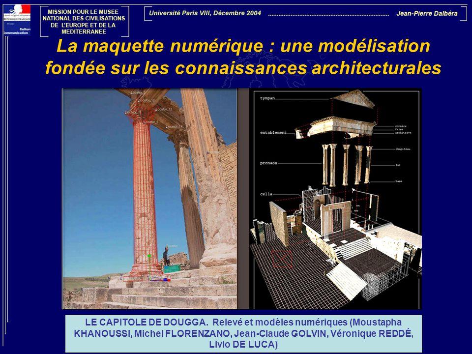 La maquette numérique : une modélisation fondée sur les connaissances architecturales