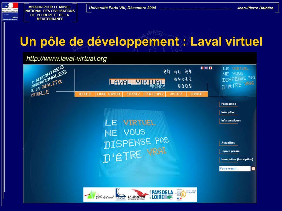 Un pôle de développement : Laval virtuel