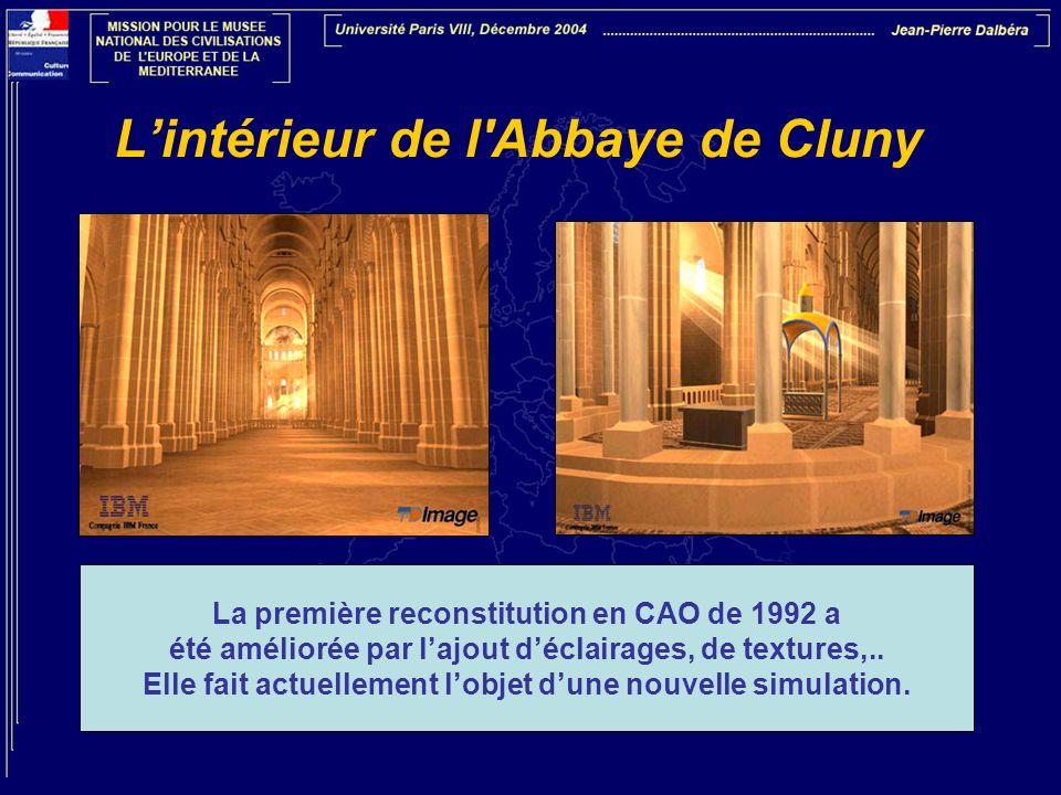 L'intérieur de l Abbaye de Cluny