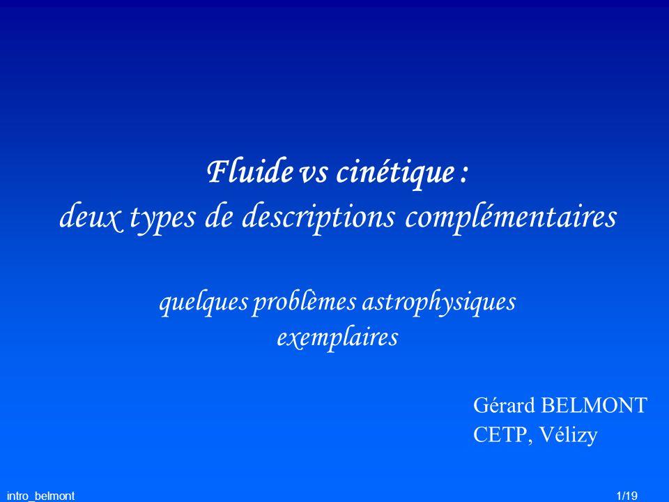Gérard BELMONT CETP, Vélizy