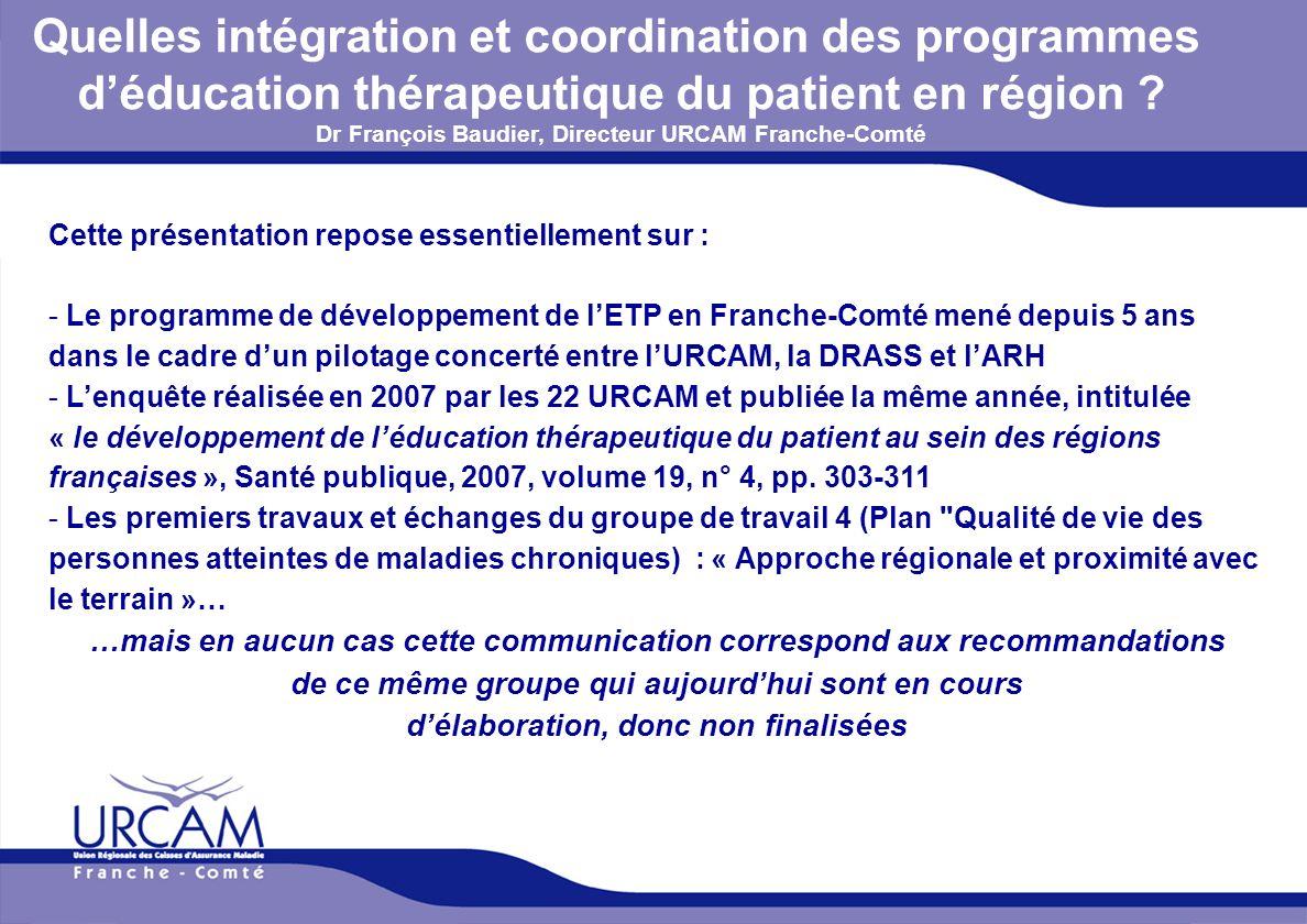 Quelles intégration et coordination des programmes