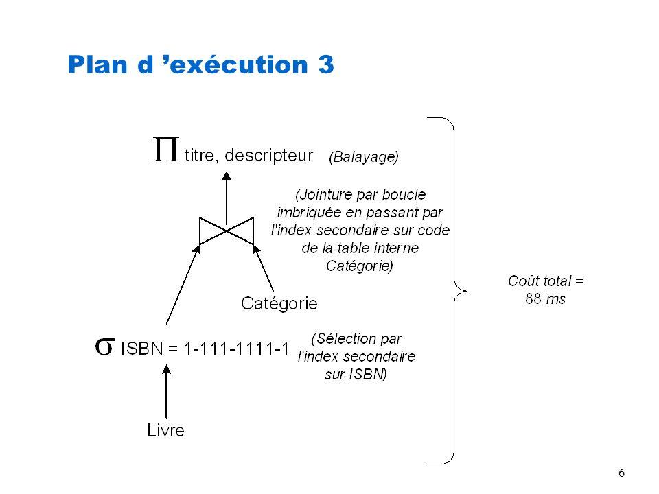 Plan d 'exécution 3